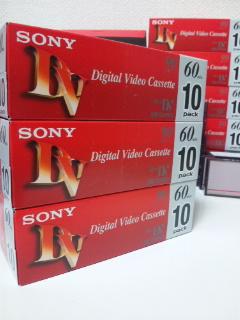 10DVM60R3×3(DVテープ)