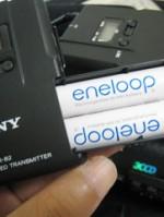 UWP-V1の電池にはエネループが最適