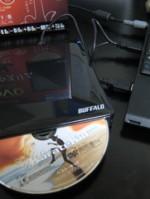外付けDVDドライブ DVSM-PS58U2/S-BK