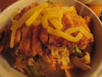 マイアミの日本食レストランで食べたカツ丼