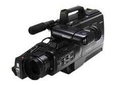 ナショナルショルダータイプVHSビデオカメラ NV-M15